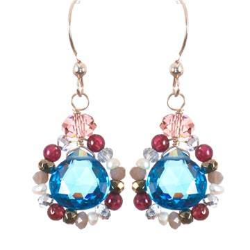 Audrey Classic Earrings-Anna Balkan