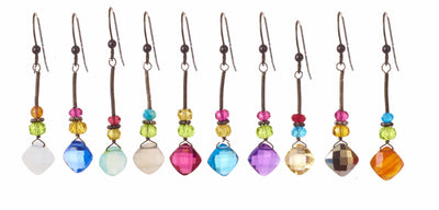 Eve Stick Everyday Gems Earrings-Anna Balkan