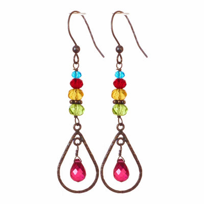 Julie Cage Earrings-Anna Balkan