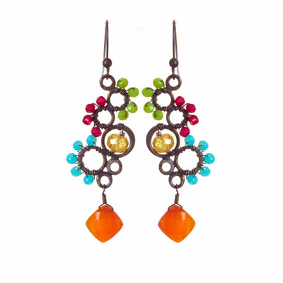 Ivy Bubble Earrings - Anna Balkan