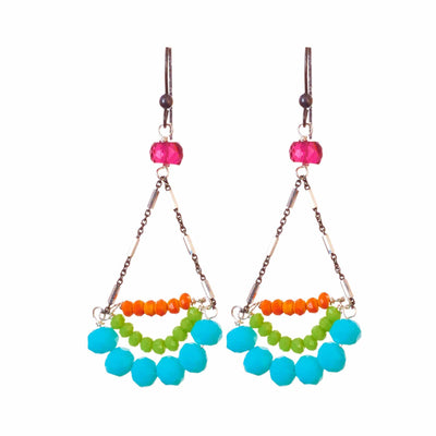 Alexis Chandelier Earrings-Anna Balkan