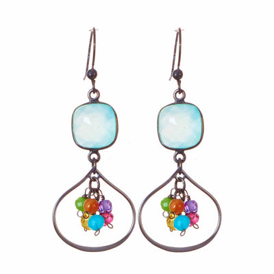 Amelia Petal Earrings-Anna Balkan