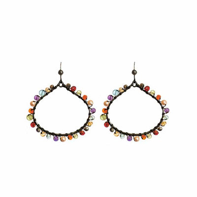 Lily Medium Hoop Earrings-Anna Balkan