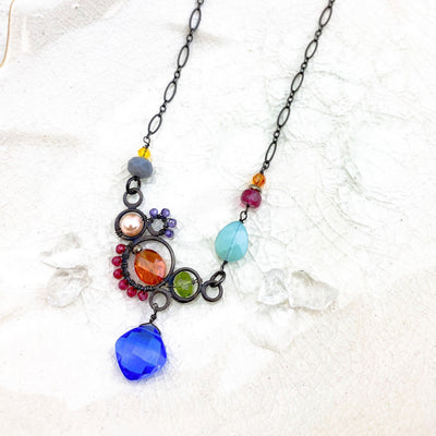 Zoe Large Bubble Necklace- Anna Balkan