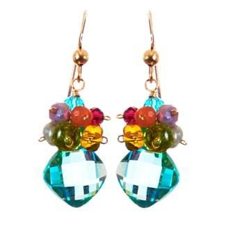 Abby Cluster Earrings-Anna Balkan