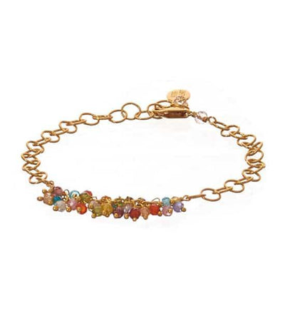 June Single Strand Tailfeather Bracelet-Anna Balkan