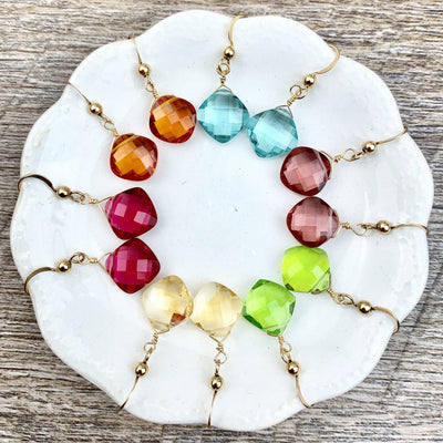 Kylie Fun Everyday Color Gem Earrings - Anna Balkan