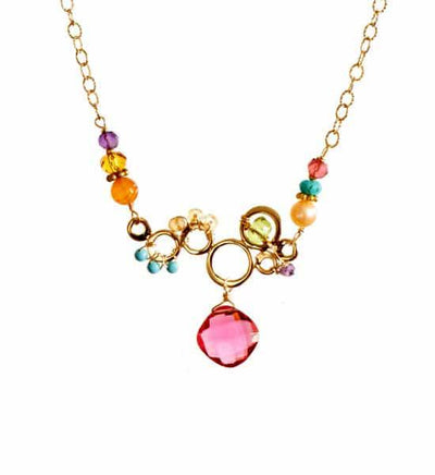 Elisa Medium Bubble Necklace-Anna Balkan