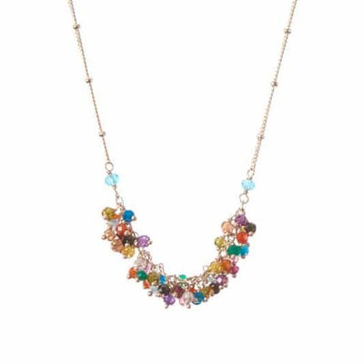 Riley's Tailfeather Necklace-Anna Balkan