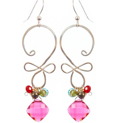 Skylar Swirl Earrings - Anna Balkan
