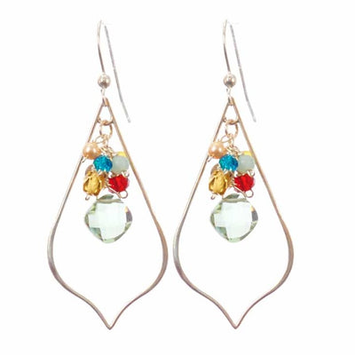 Oria Petal Earrings-Anna Balkan