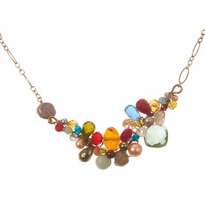 Danielle Medium Branch Necklace-Anna Balkan