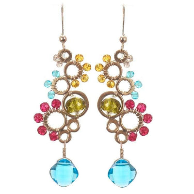Ivy Bubble Earrings-Anna Balkan