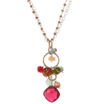 Jeanie Pendant Necklace - Anna Balkan