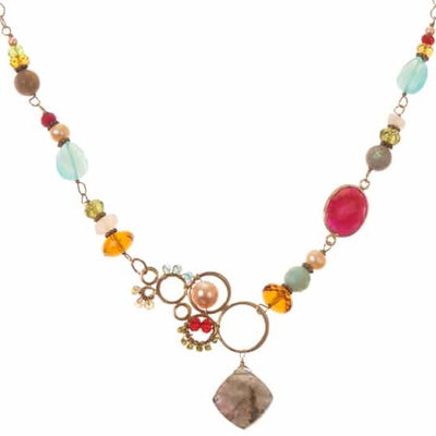 Yasmin Medium Bubble Necklace - Anna Balkan