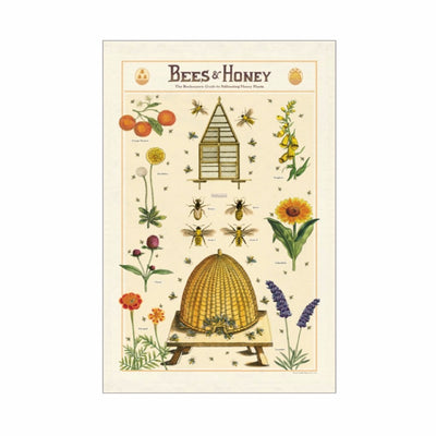 Bees and Honey Tea Towel