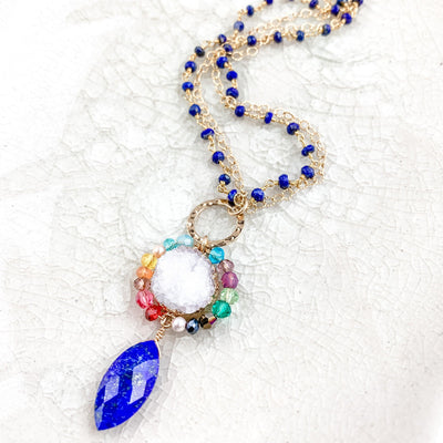Colorful Lapis Necklace - Anna Balkan