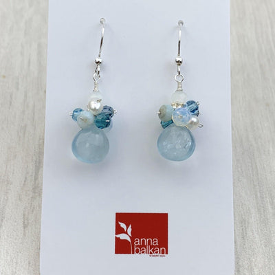 Abby Aquamarine Earrings Limited Edition - Anna Balkan