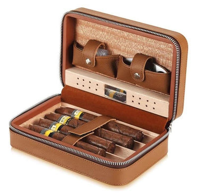 Cigar Afficionato Leather Carriers - Anna Balkan