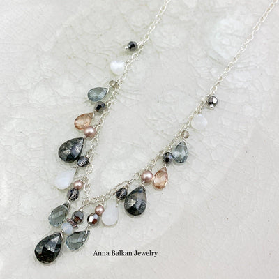 Marcasite Elegance Necklace - Anna Balkan