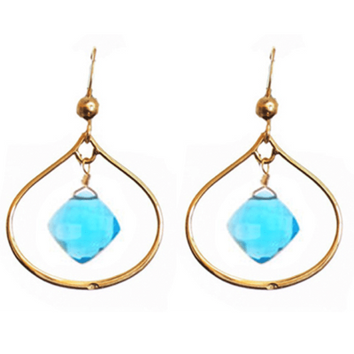 Nina Petal Everyday Earrings-Anna Balkan