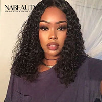 HD Front Lace Human Hair Wigs With Baby Hair Deep Wave Human Hair For Women