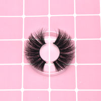 25mm Eyelashes 100% Mink Eyelashes Mink Lashes Natural Dramatic Volume Eyelashes Extension False Eyelashes
