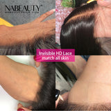 HD Lace Human Hair Wigs 5x5 HD Lace Closure Wig Straight Pre Plucked Hairline Brazilian Hair Wigs