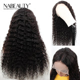 Front Lace Human Hair Wigs With Baby Hair Deep Wave Human Hair For Women