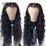 *NEW* Wet and Wavy Lace Wig 13*6 Deep Part Brazilian Human Hair With Baby Hair 150% Density