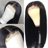 HD Closure Wig | HD 6x6 part size closure with 3 bundles virgin human hair 250% Density