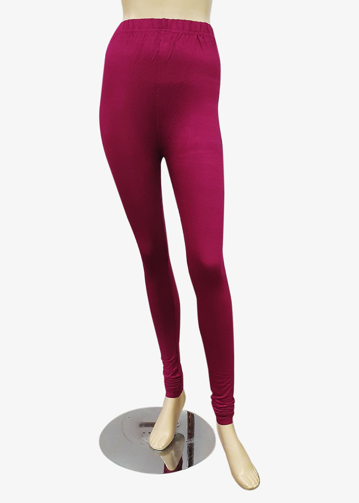 Magenta Churidar Leggings