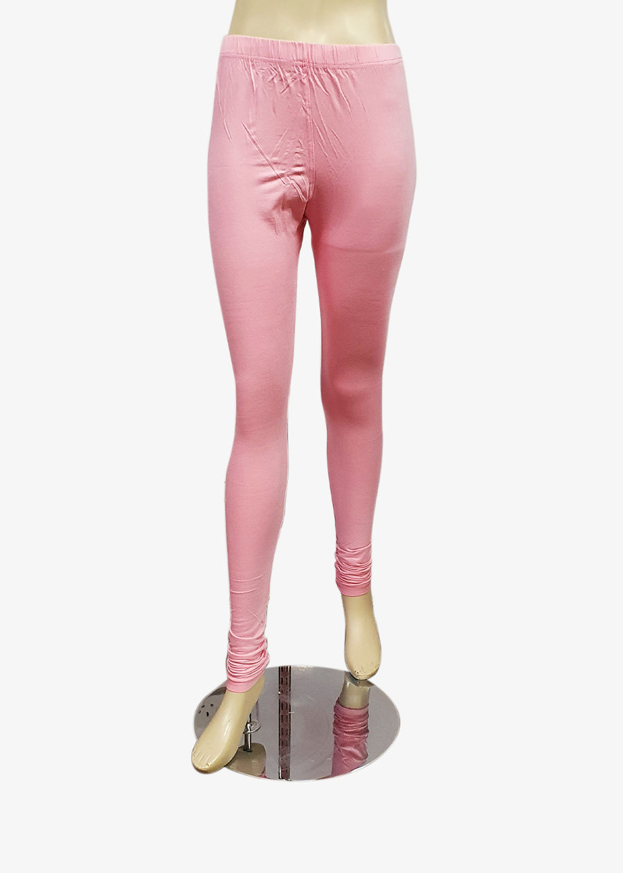 Baby Pink Churidar Leggings