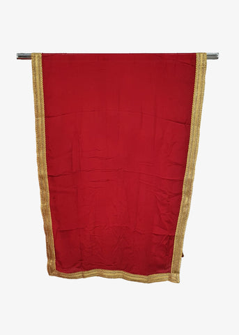 Red Georgette Dupatta