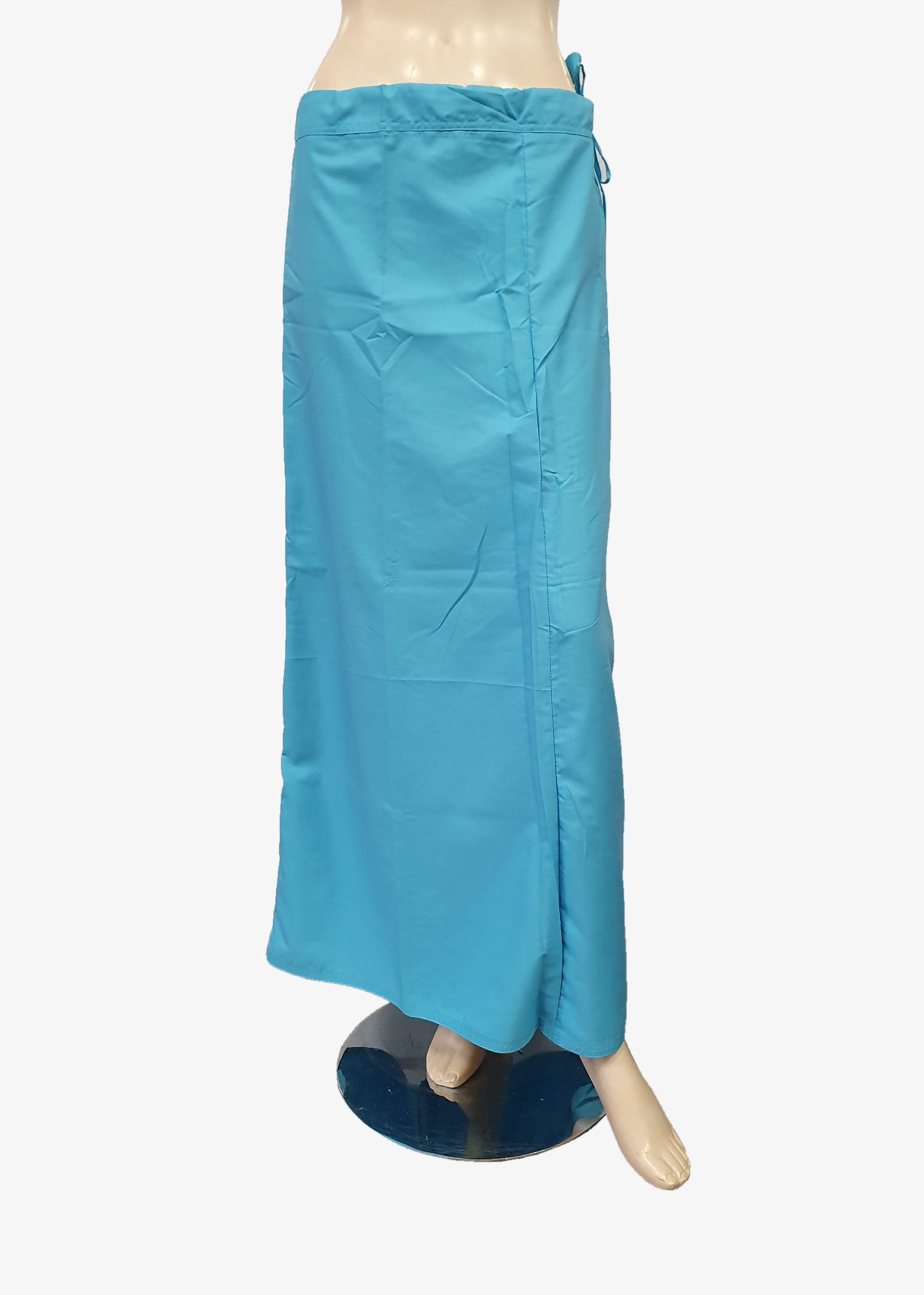 Ice Blue Cotton Petticoat