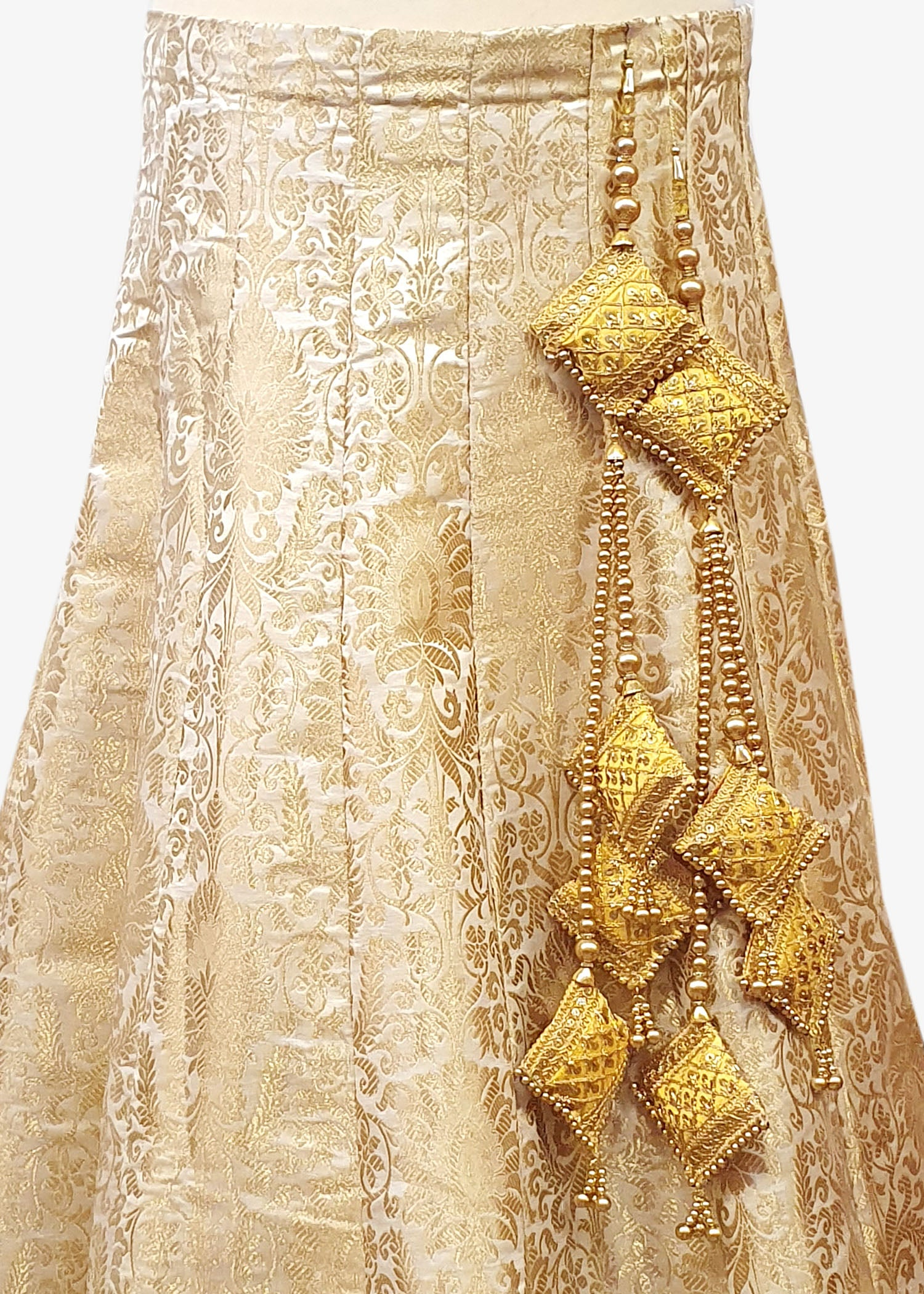 Eight Piece Bridal Tassel Set - Yellow