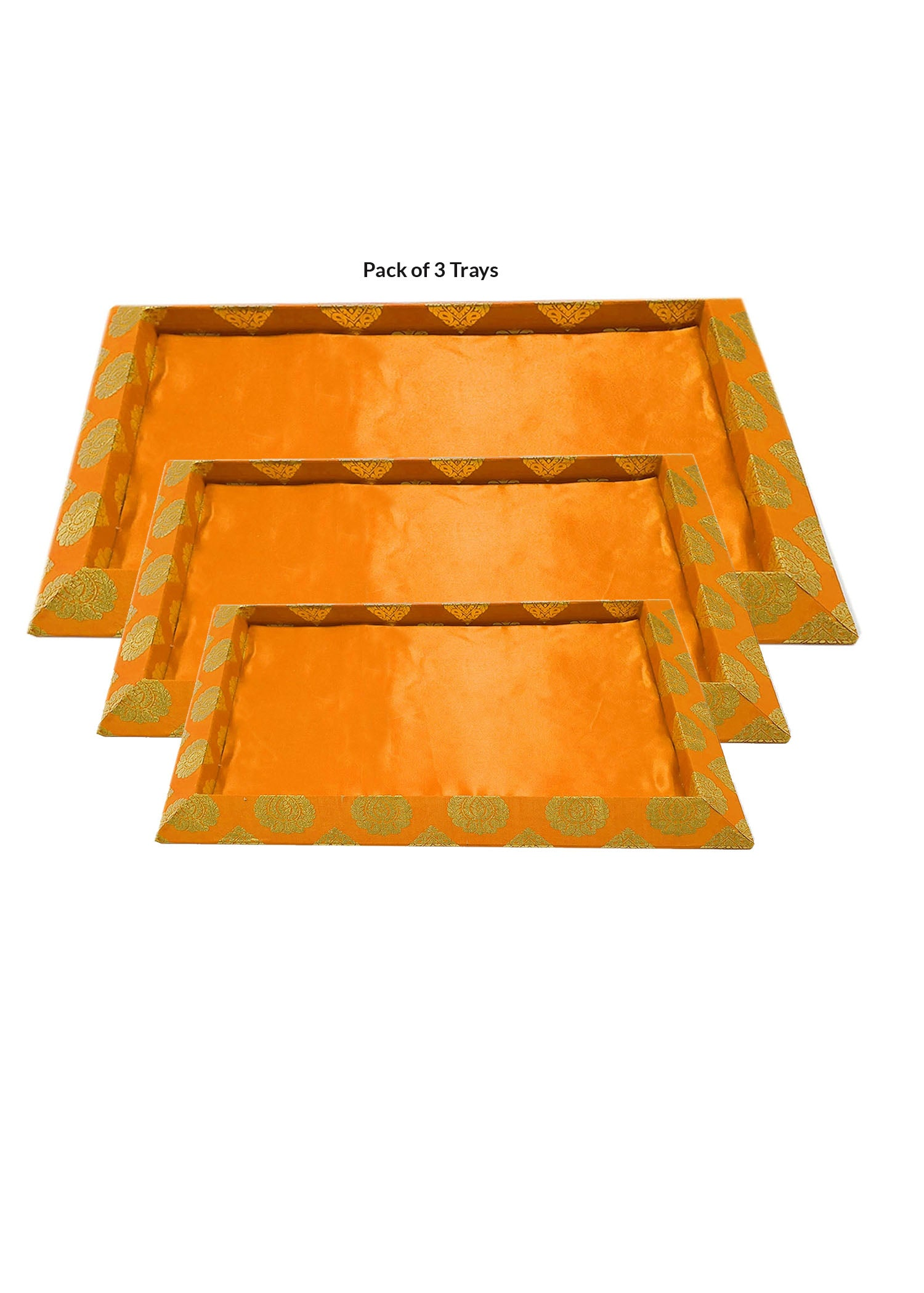 Orange Decorative Trays