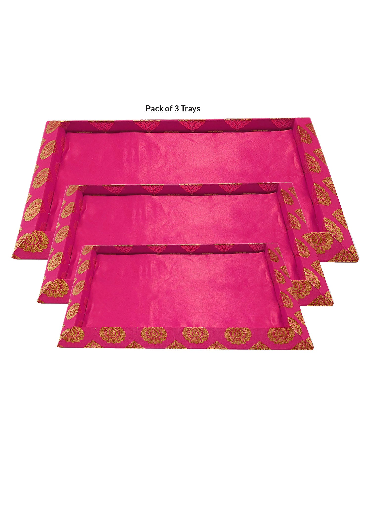 Pink Decorative Trays