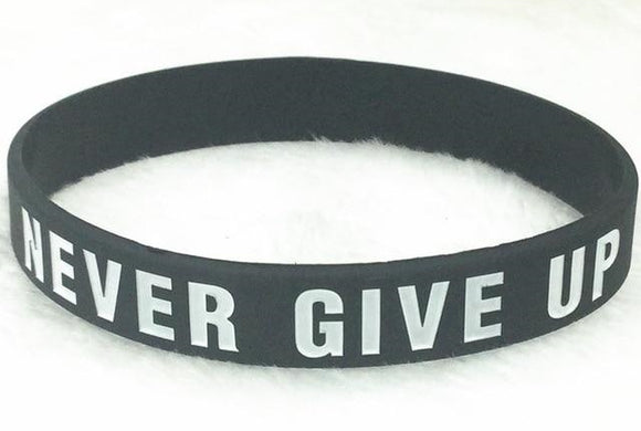 Pulsera Never Give Up
