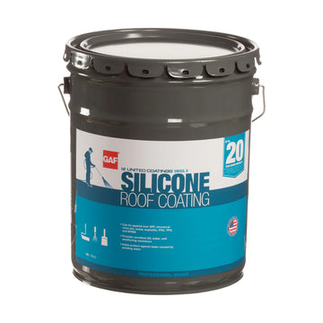 "Unisil II Silicone Roof Coating ""Solvent Based"""