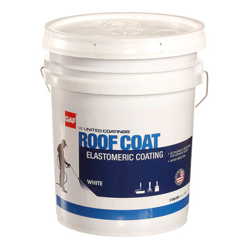 Roof Coat Top Coat Elastomeric Coating (7-Year Limited Warranty)