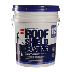 Roofshield Top Coat Acrylic Reflective Elastomeric (12-Year Limited Warranty)