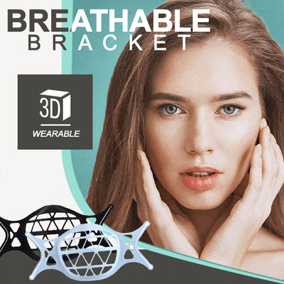 3D Silicone Breathable Bracket (3pcs)