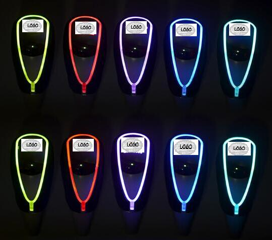 Car LED leather shift lever