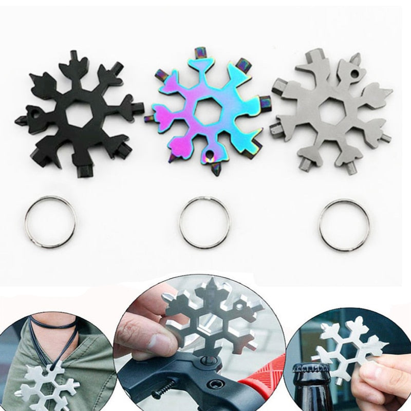 18-in 1 Snowflake Multi-tool