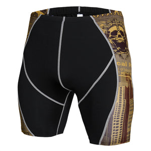 #5 Men's Shorts Quick-drying Breathable Sports Shorts Compression Fitness Tight Shorts