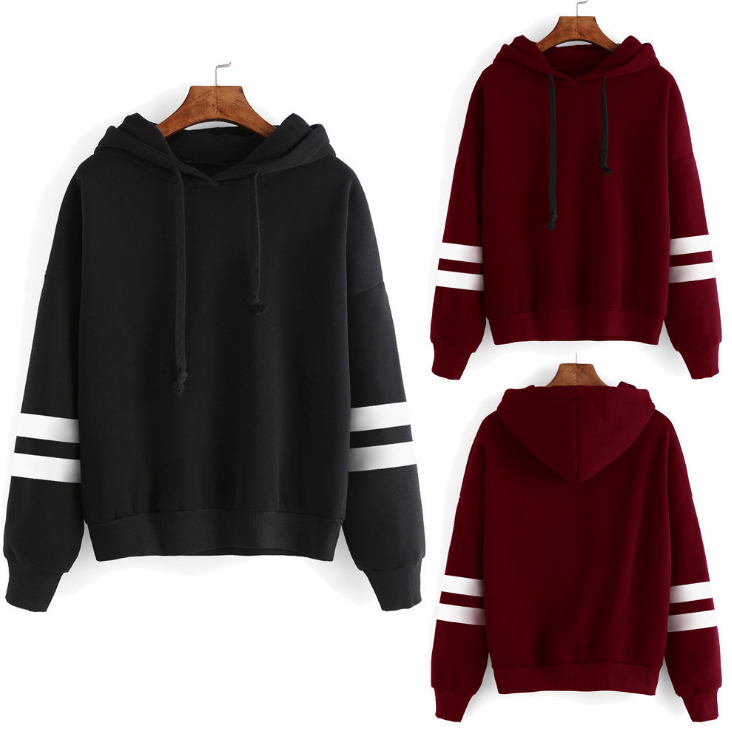 New Women Hoodie Sweatshirt Long Sleeve Sweater Blouse Jumper Pullover Tops Coat