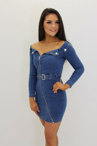 Tasha Denim Dress