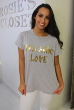 Load image into Gallery viewer, Yves Saint Love T-Shirt Grey