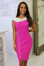 Load image into Gallery viewer, Magenta Midi Dress